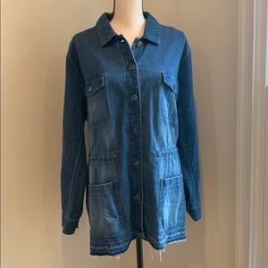 J Jill denim jean jacket